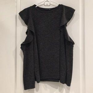 Zara Cold Shoulder Sweater